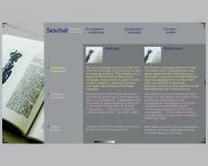Bild Webseite Seschat Gestaltung  und Software-Lokalisierung München