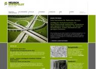 Bild Webseite Heusch H. Dr.Ing. - Dipl.Ing. J. Boesefeldt beratende Ingenieure für Verkehrstechnik und Datenverarbeitung München