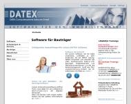 Bild Webseite DATEX Computersysteme Karlsruhe Karlsruhe