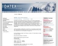 Website DATEX Computersysteme Karlsruhe