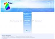 Bild Webseite A & G Computer Magdeburg