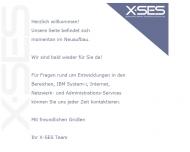 Bild X-SES Gesellschaft für Software, Entwicklung mbH