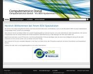 Bild Webseite  Riesa