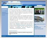 Bild Webseite ISTEC-Gesellschaft für innovative Softwaretechnologien München