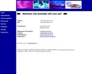 Bild Webseite K.S.D. EDV Dienstleistung München