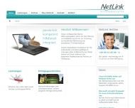 Bild Webseite Netlink Datenkommunikationssysteme München