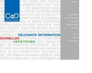 Bild Webseite CARSTENS + PARTNER München