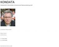 Bild Kondata Gesellschaft für Konstruktion und technische Datenverarbeitung mbH
