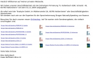 Bild Webseite Kenntemich Marion Frankfurt