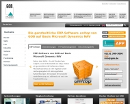 Website GOB Software & Systeme