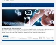 Bild Webseite EMOS Software München