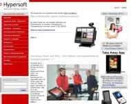 Bild Webseite Hypersoft Berlin Gesellschaft für Software Systeme Berlin