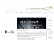 Bild Webseite comCAD Berlin