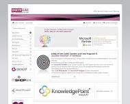 Bild Webseite micro Cat EDV Vertriebs und Software Köln