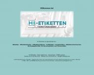 Bild HI-Etiketten Horst Ingelmann Etikettenservice