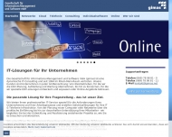 Bild Webseite gimas Gesellschaft für InformationsManagement und Software Frankfurt