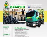 Bild Entsorgungsfachbetrieb, Containerdienst und Wertstoffrecycling Kemper GmbH