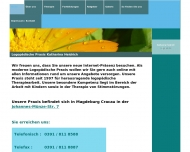 Bild Webseite Heidrich Magdeburg