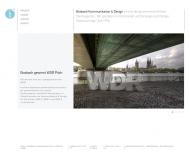 Bild Webseite Bosbach Kommunikation u.Design Köln