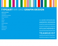 Website TYPOART Rechnergestütztes Grafik-Design
