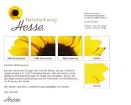 Bild Webseite Hesse Torsten Dresden