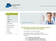Bild Webseite INA-Dienstleistungszentrum für innovativen Arbeits- und Brandschutz Berlin