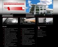 Website Metalltechnik Kuhle