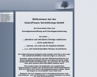 Bild Webseite SelectFinanz Vermittlungs Nürnberg