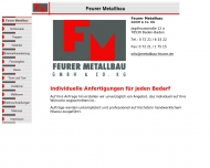 Bild Feurer GmbH & Co. KG Metallbau Edelstahl u. Verarbeitung