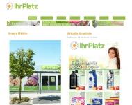 Bild Webseite Ihr Platz Drogeriemarkt Berlin