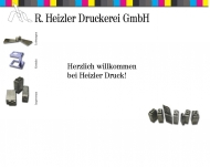 Bild Webseite Rudolf Heizler Druckerei Freiburg im Breisgau
