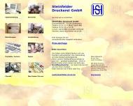 Bild Steinfelder Druckerei GmbH Druckerei