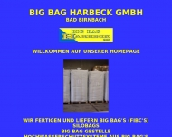 Bild Webseite Big-Bag Harbeck Bad Birnbach