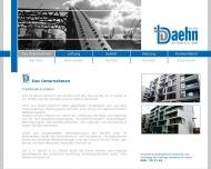 Website B.H. Daehn