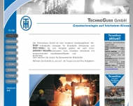 Bild Webseite TechnoGuss Tangerhütte Tangerhütte