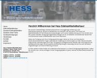 Bild Webseite Hess Edelstahlbehälterbau Eschenburg