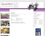 Website Quadri Sportstudio