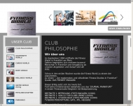 Willkommen auf der Internetseite von FITNESS WORLD in Frankfurt