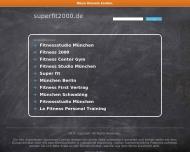 Bild Webseite Super Fit 2000 München
