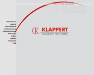 Bild Klappert GmbH                 ,Spanende Fertigung
