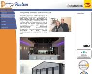 Website Elektro Paulsen