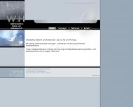 Bild Webseite W+H Ingenieurplanung München