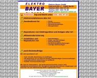 Willkommen bei Elektro Bayer