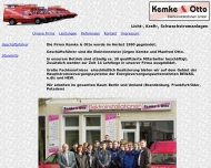 Website Kemke & Otto