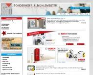 Bild Webseite Sonderhoff & Mühlemeister Wuppertal