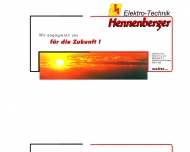 Bild Webseite Elektro-Technik Hennenberger Rheinau