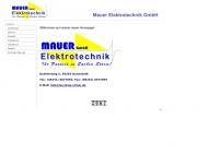 Bild Mauer Elektrotechnik GmbH