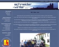 Website Schneider & Winter Elektrotechnik
