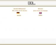 Bild Webseite BBL-Industriemeßtechnik Aachen