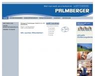 Bild Webseite Palmberger Vertriebs München